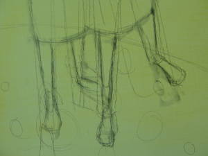 the beginning legs (preliminary detail)