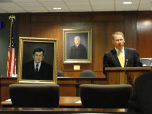 Courtroom dedication
