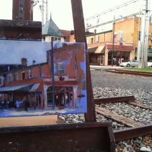 Lumina plein air painting, 2015 (4 of 4)