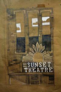 Sunset Theatre Illustration, 2011 (1 of 2)