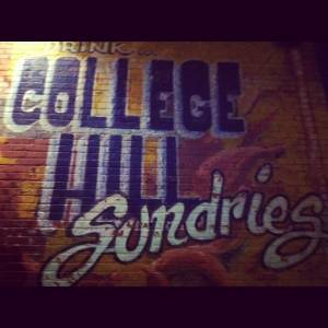 College Hill Sign